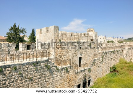 Old City Walls - stock photo