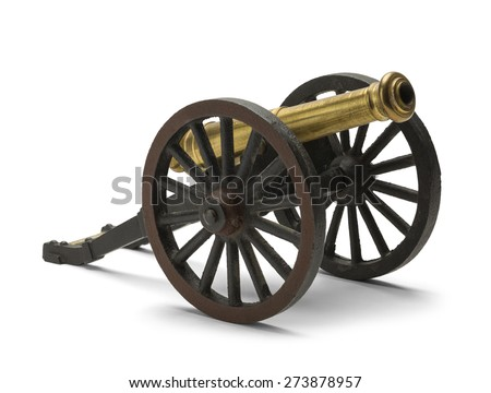 Old civil war cannon isolated on stock photo 273878957 shutterstock old civil war cannon isolated on white background thecheapjerseys Choice Image