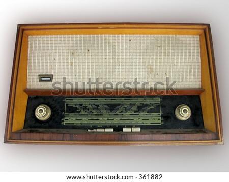 Old Classic Radio - stock photo