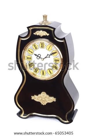 old clock vintage - stock photo