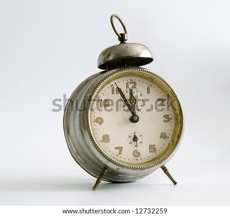 Old clocks - stock photo