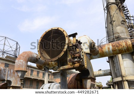 old coal-gas factory in Beijing,China