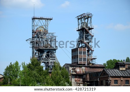 Old coal mine in Bytom (Poland)