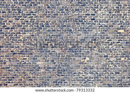 old cobble stone street - stock photo