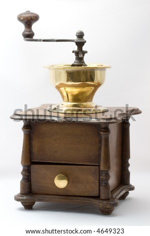 old coffeegrinder overview