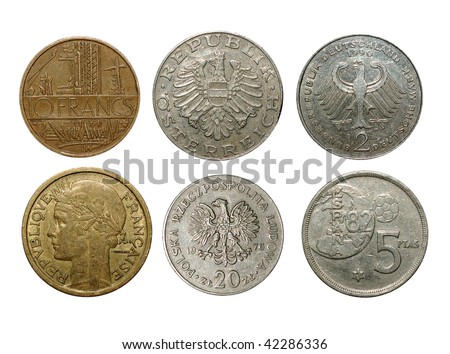 old coins States of the European Union