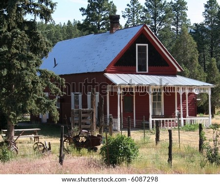 Old Colorado Mountain Home