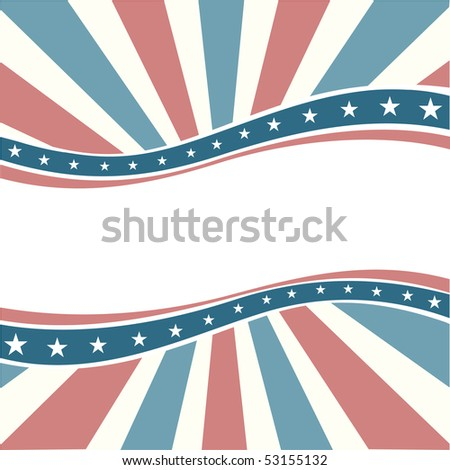 Old Colors American Wave - stock photo