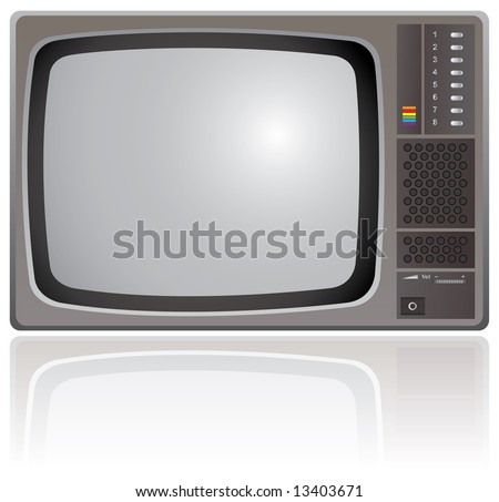 Old Colour Television