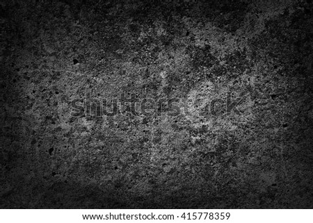 Old concrete texture with dark edges - stock photo