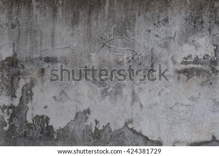 old concrete wall,concrete wall background texture - stock photo