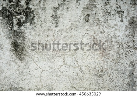 Old concrete wall for background - stock photo