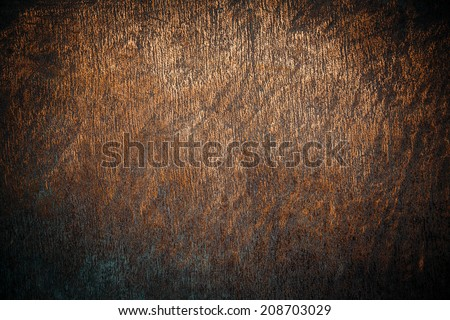 old copper surface - stock photo