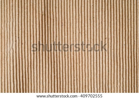 old corrugated cardboard sheet texture