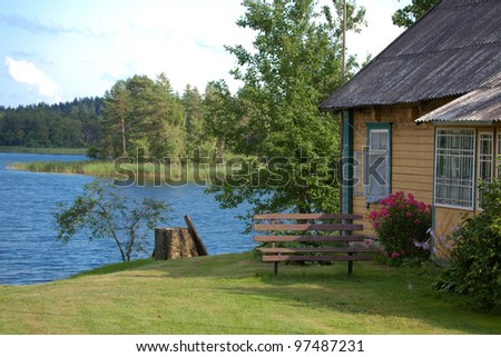 Cottage Lake Stock Photos Images Amp Pictures Shutterstock