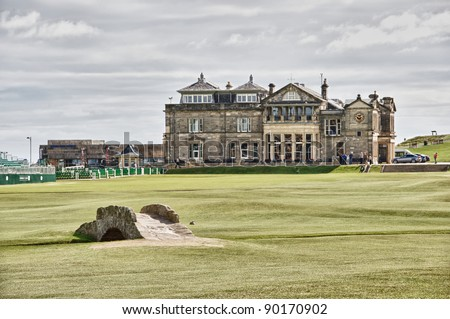 old course st andrew scotland - stock photo