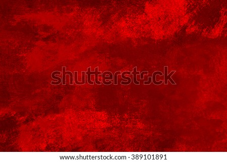 old cracked red background - stock photo