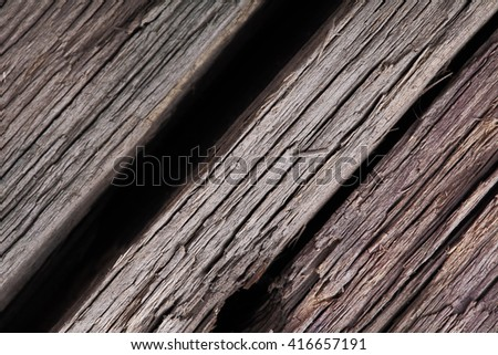 Old cracked wooden textured background - stock photo