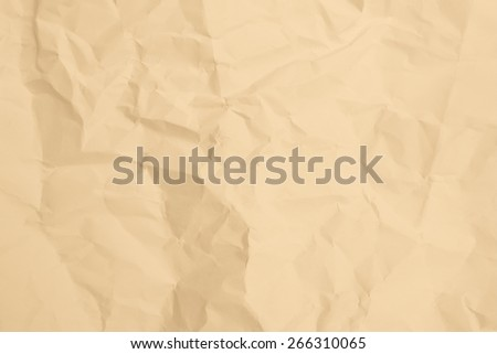 Old creased paper background texture - stock photo
