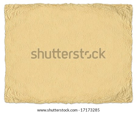 Old crumpled textured paper - stock photo