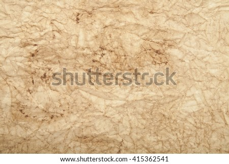 old crushed paper as background - stock photo