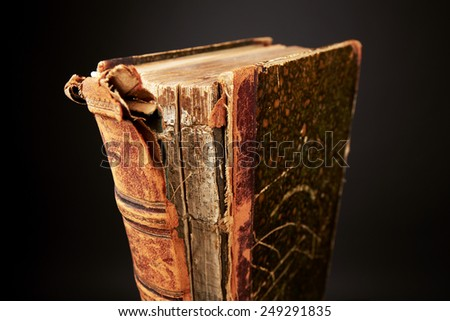 Old damage book