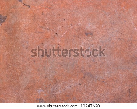 Old damaged wall background - stock photo