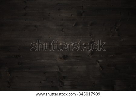 Old dark wood table top timber background texture - stock photo