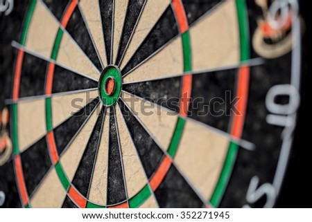 Old Dartboard