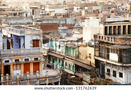Old Delhi, India, Asia - stock photo