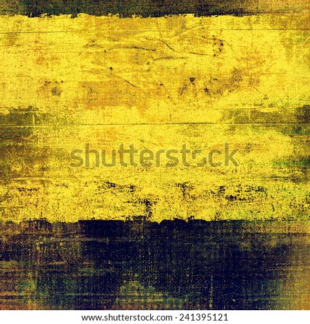 Old designed texture as abstract grunge background. With different color patterns: brown; blue; gray; yellow (beige) - stock photo