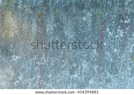 Old destroyed concrete wall background. Cracked and weathered concrete - stock photo