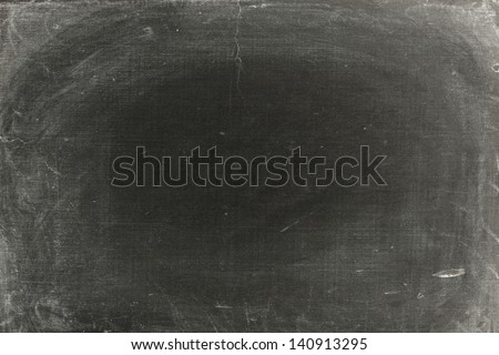 Old dirty blackboard - stock photo