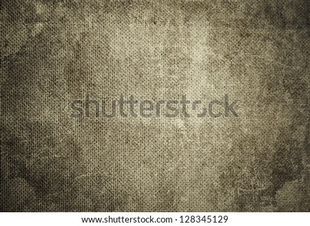 Old dirty grunge textured material - stock photo