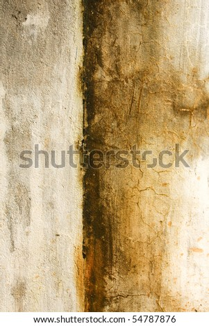 Old dirty grunge wall texture - stock photo