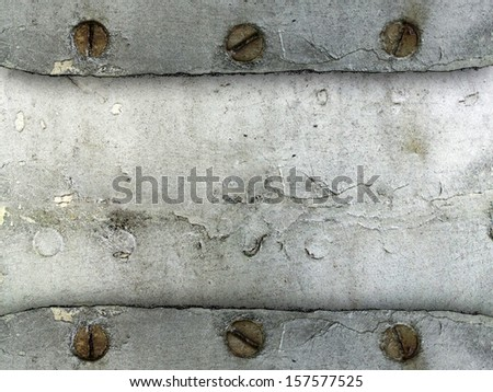 Old dirty metal sheet for background  - stock photo