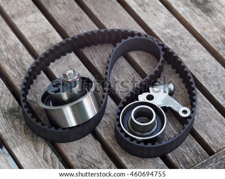 Tensioner pulley stock images royalty free images for Uses for old pulleys