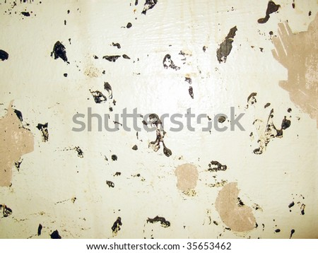 old dirty wall or laminated paper