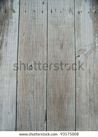 Old dock wooden plank wallpaper - stock photo