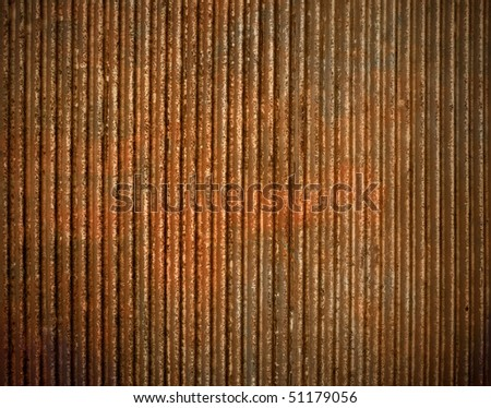 Old door rusty - stock photo