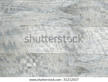 Old dried out grey wooden planks. - stock photo
