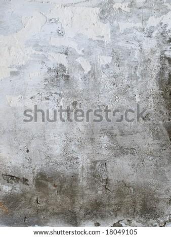 Old dump wall - stock photo