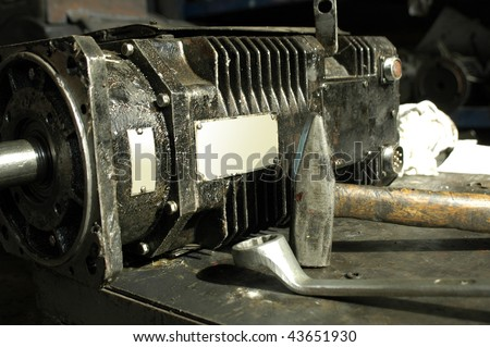 Stock images royalty free images vectors shutterstock for Electric motor repair shops