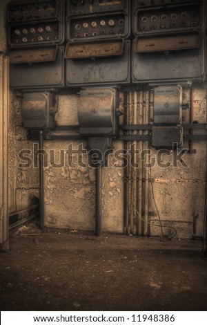 Old Electricity - stock photo