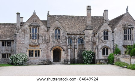 Old English Country Mansion