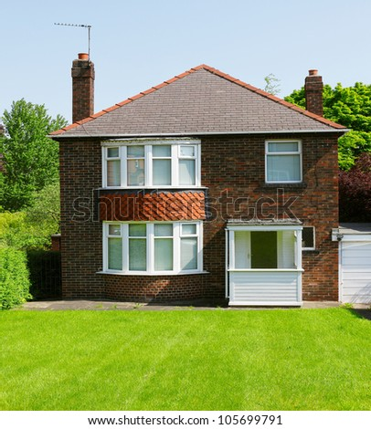 Old English House - stock photo