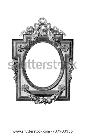 old engraved frame - Engraved Picture Frame