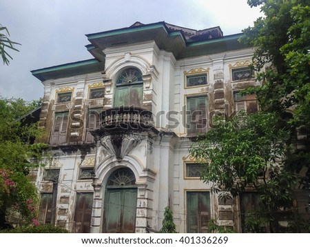 Colonial house stock images royalty free images vectors for European townhouse