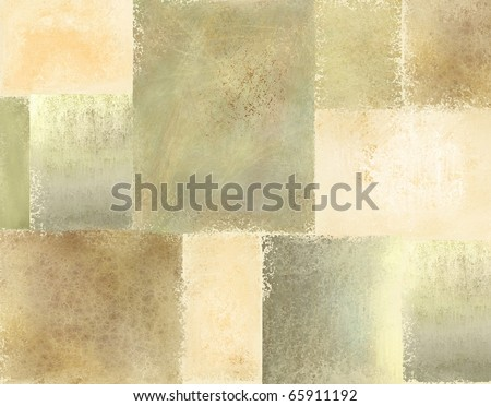 old faded soft cream and brown tone background with soft vintage grunge texture - stock photo