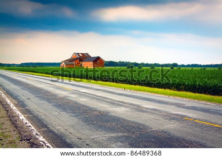 Old Farm - stock photo
